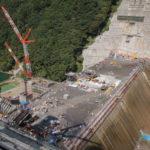 湯西川ダム建設工事現場見学会(2010/10/02)