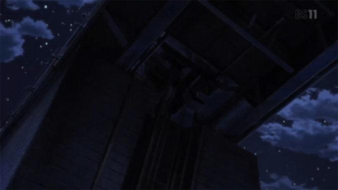 天端よりゲート巻き上げ機を望む(グレイプニル)
