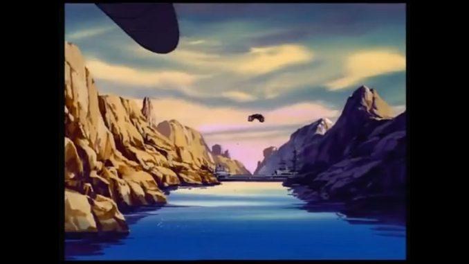 戦え!超ロボット生命体トランスフォーマー(貯水池よりシャーマンダムの上流面を望む)