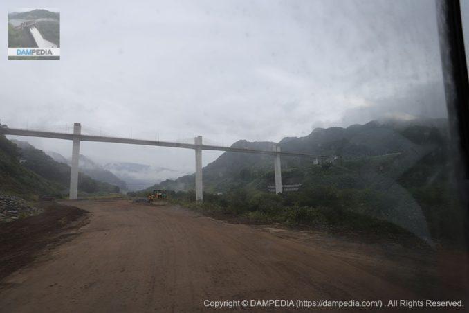湖底から八ッ場大橋