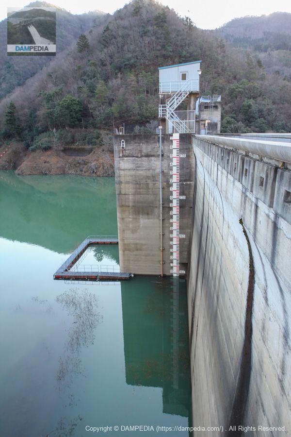 大野発電所取水口