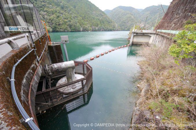 河川維持用水用の取水設備