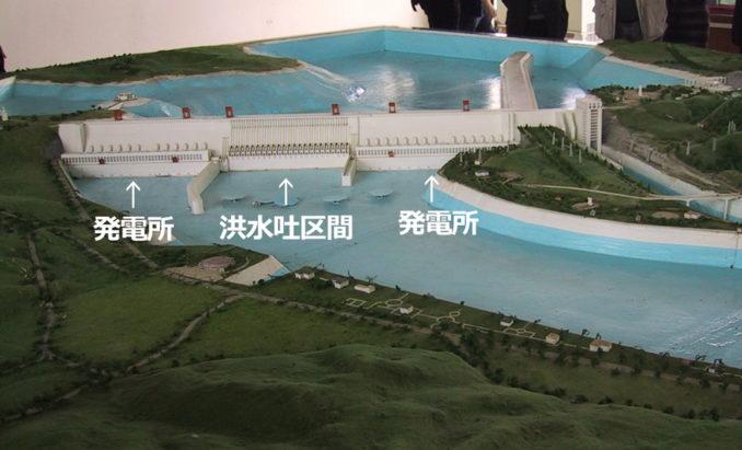 三峡ダムのモデル(出典:Wikipedia・CC BY-SA 3.0・当サイトで一部加工)