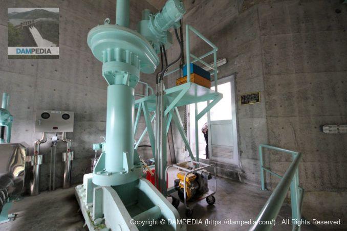 内の倉発電所放流設備