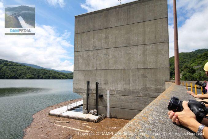 和田川第一・第二発電所 取水塔