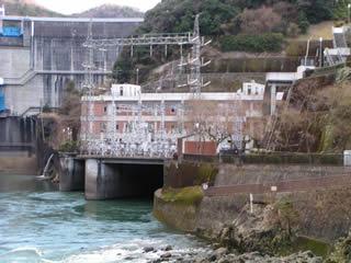 天ヶ瀬発電所