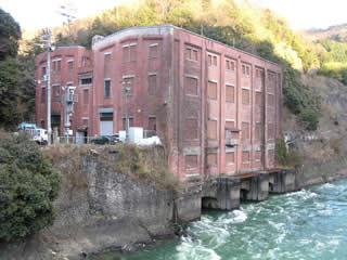 旧宇治川電気志津川発電所
