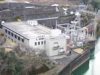 天ケ瀬発電所