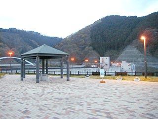 ダムサイト周辺の公園