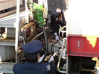 アプト式機関車との連結