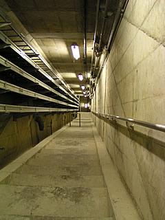 監査廊内階段