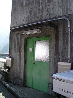 エレベーター室